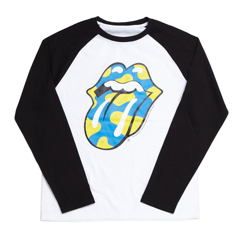 ROLLING MONSTERS RAGLAN BLUE TEE