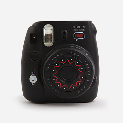 [Limited Edition] Instax x SML mini8 camera - black