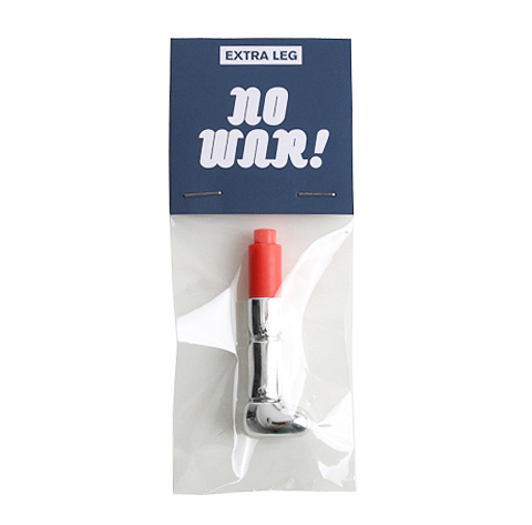 S07 NO WAR BOY Extra Leg - SILVER
