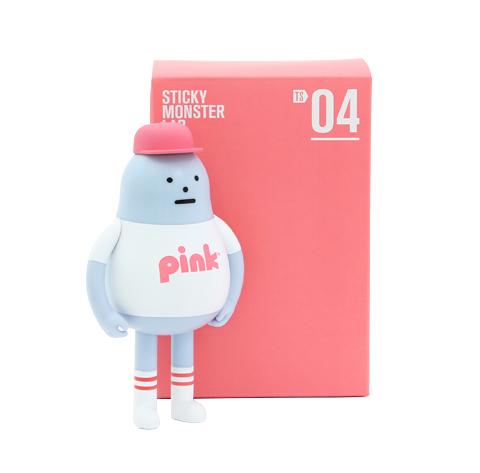 TS04 - TOYSOUL 2018 PINK MARKET FIGURE
