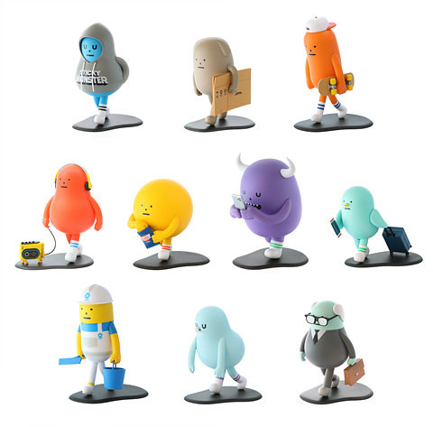 SML Mini-Figure Blind Box Vol 1. : WALKING SERIES