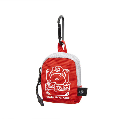 KS X SML POUCH RED